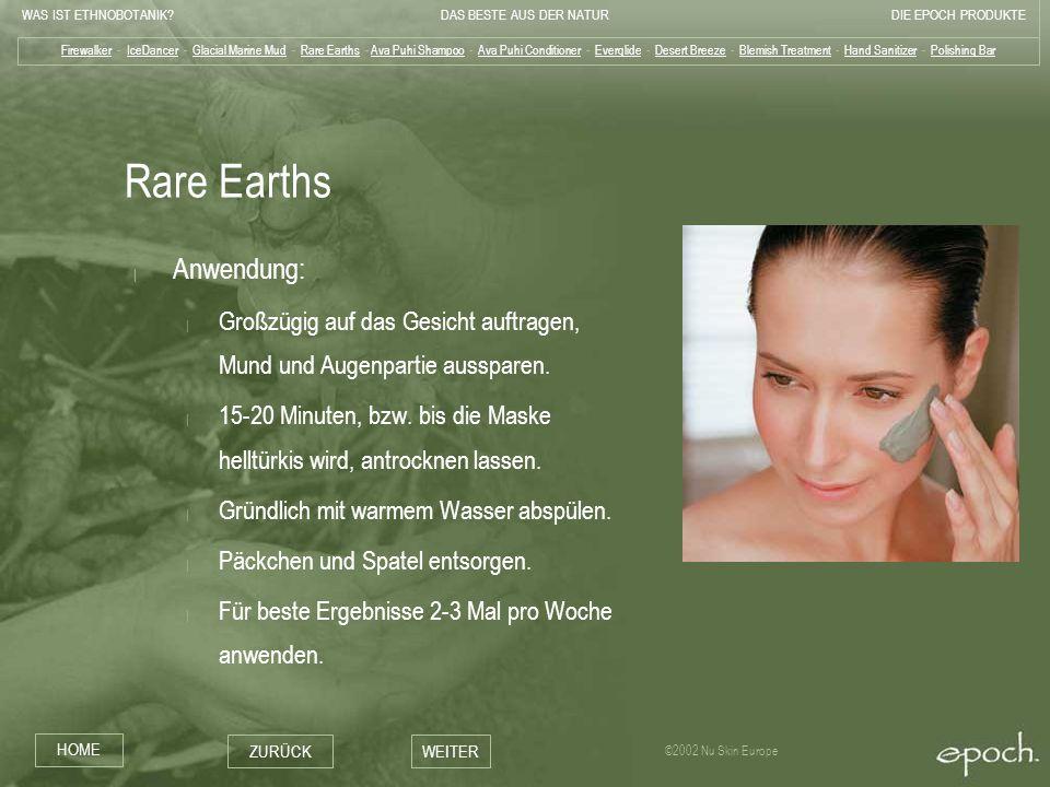 Rare Earths Anwendung:
