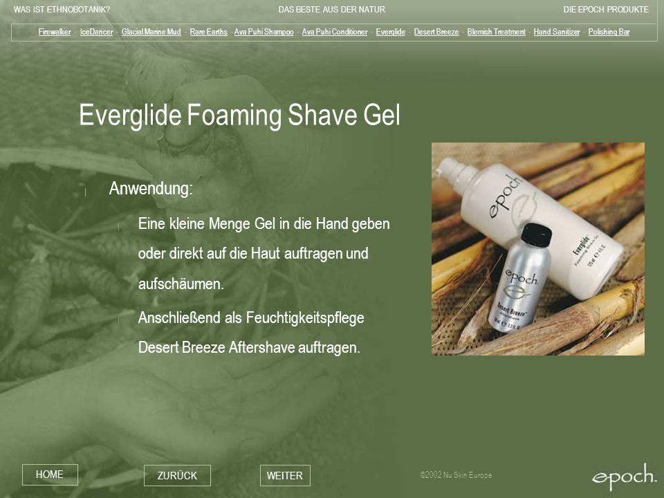 Everglide Foaming Shave Gel