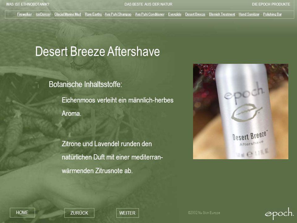 Desert Breeze Aftershave