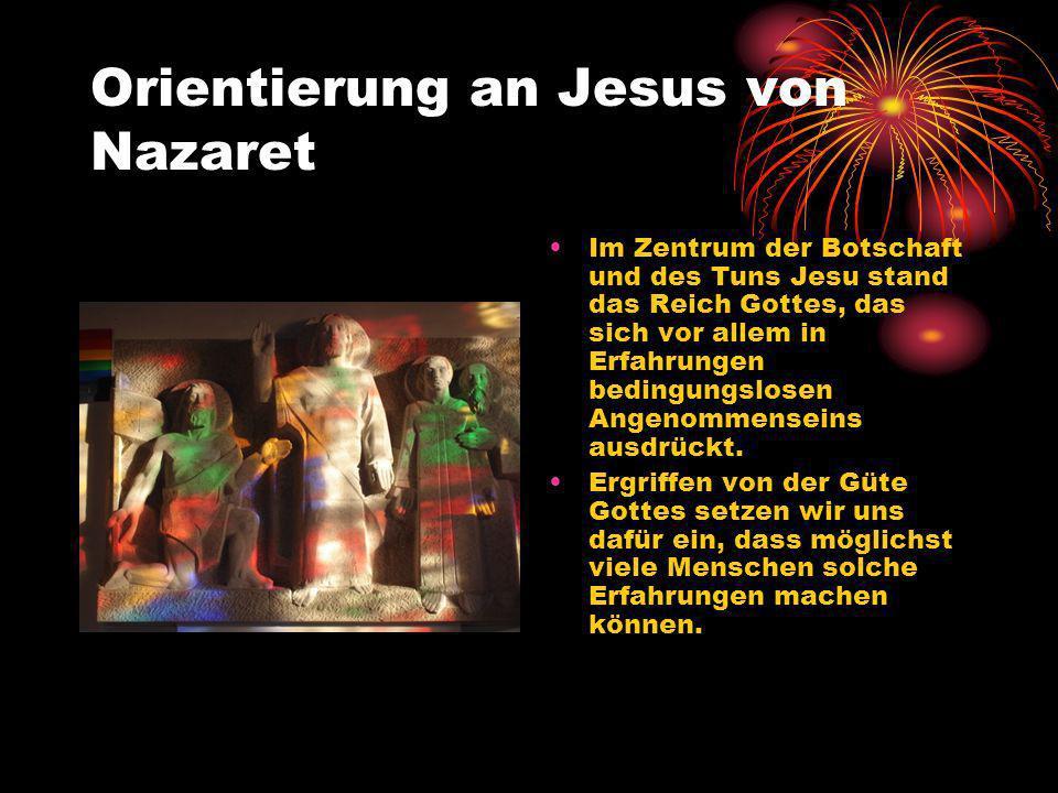Orientierung an Jesus von Nazaret