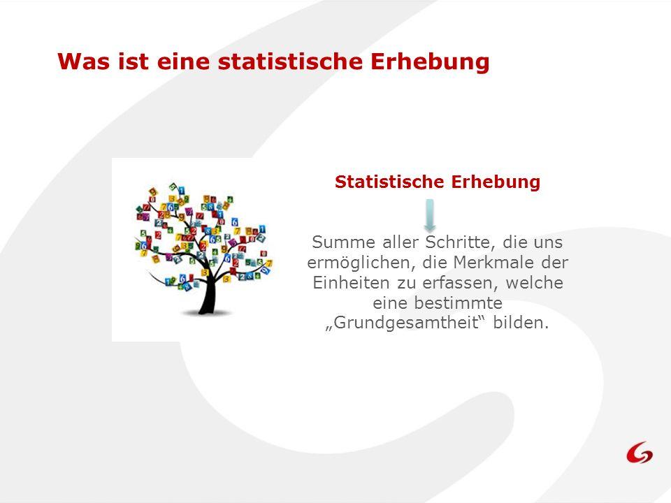 Statistische Erhebung