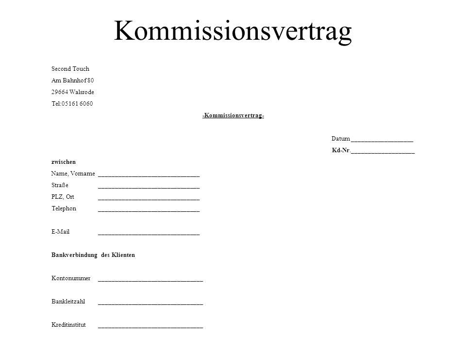 -Kommissionsvertrag-
