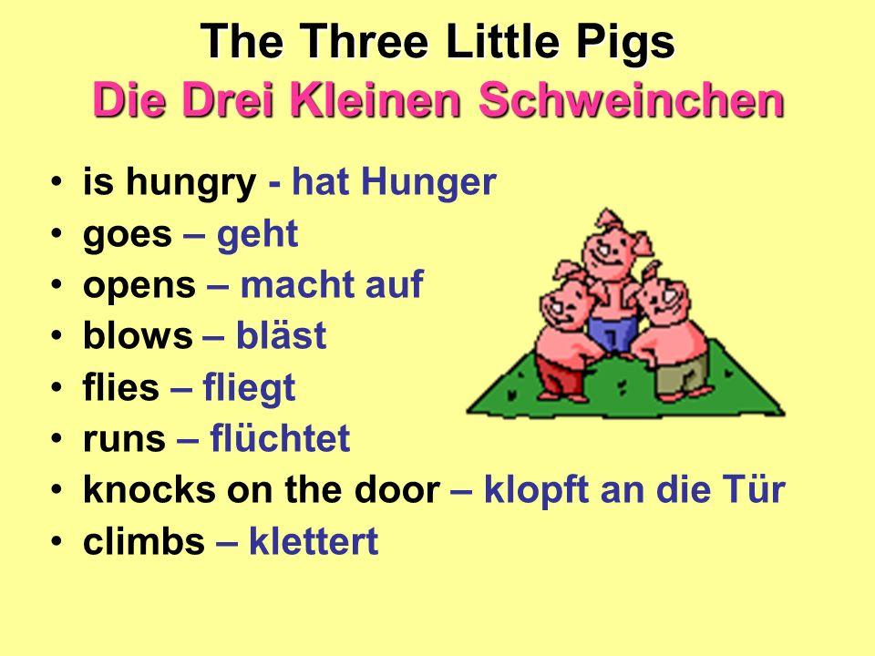 The Three Little Pigs Die Drei Kleinen Schweinchen