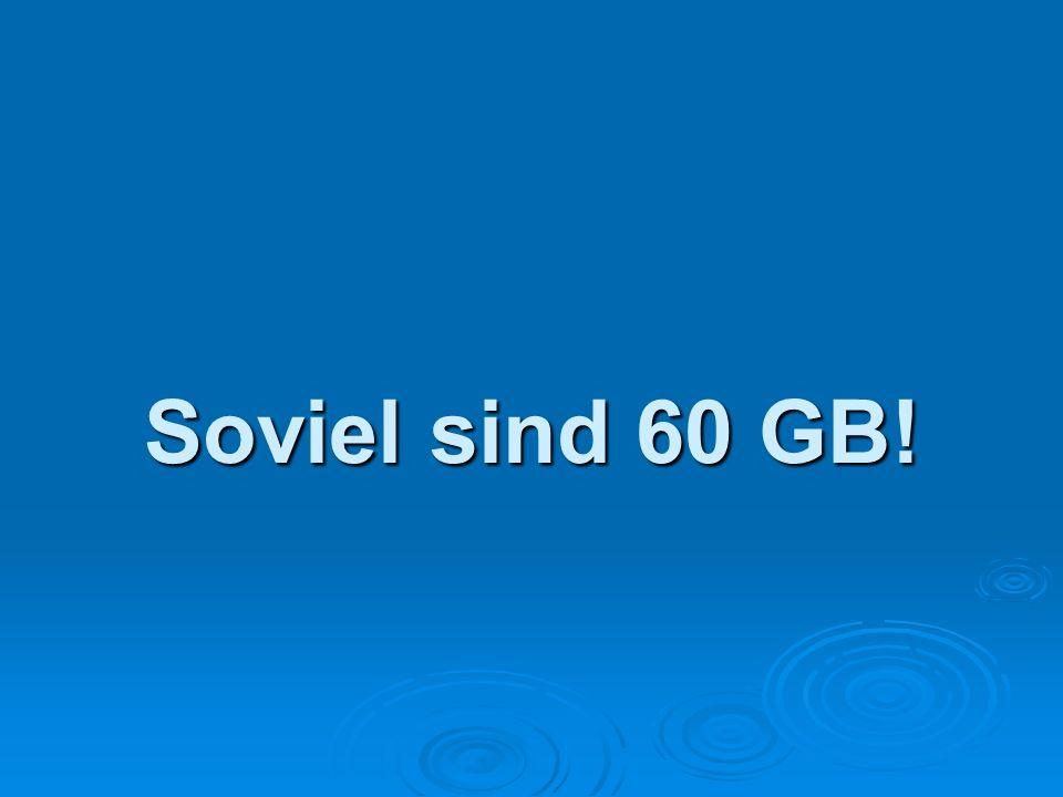 Soviel sind 60 GB!