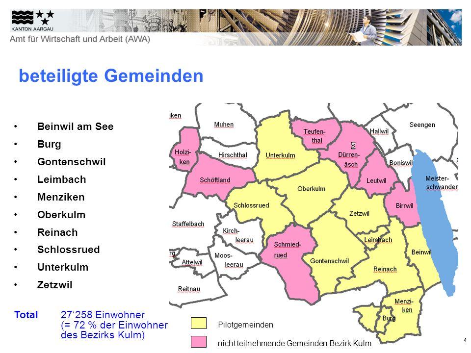 beteiligte Gemeinden Beinwil am See Burg Gontenschwil Leimbach