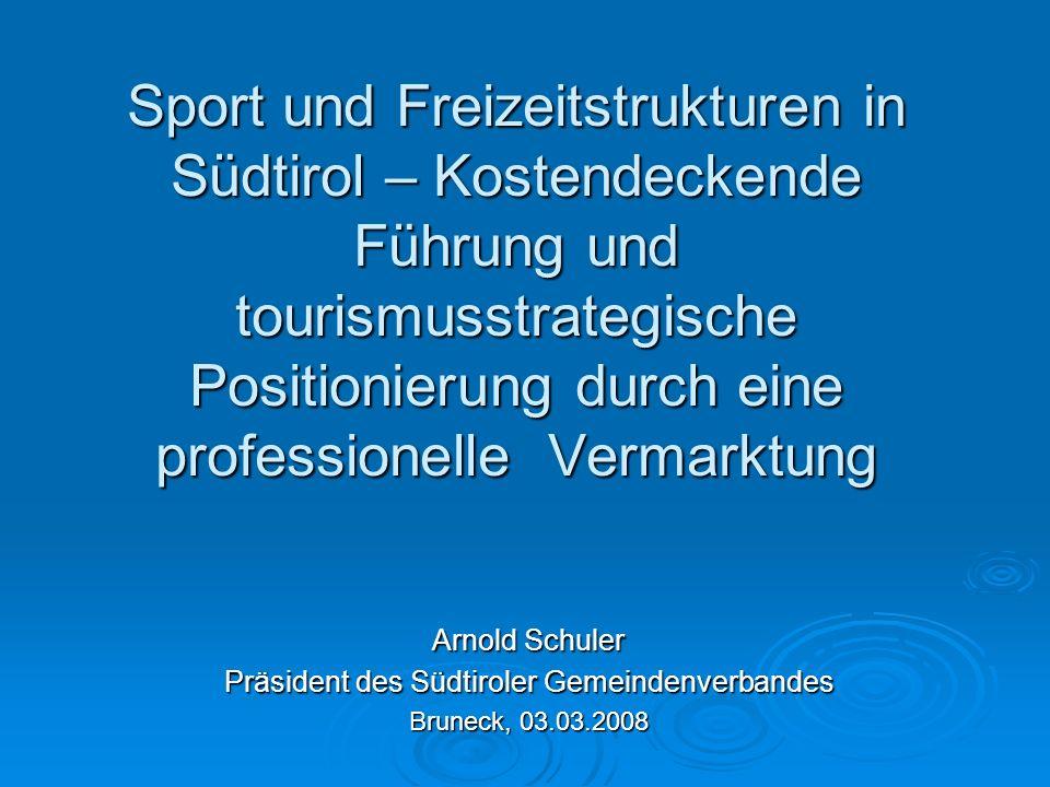 Präsident des Südtiroler Gemeindenverbandes