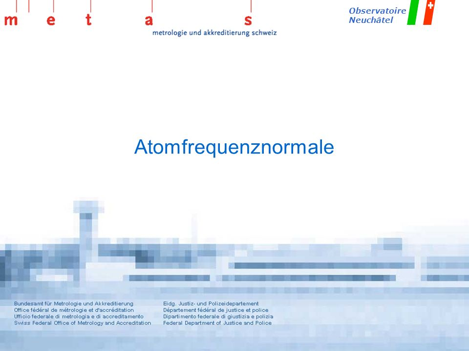 Atomfrequenznormale