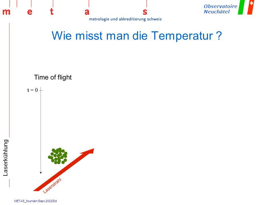 Wie misst man die Temperatur