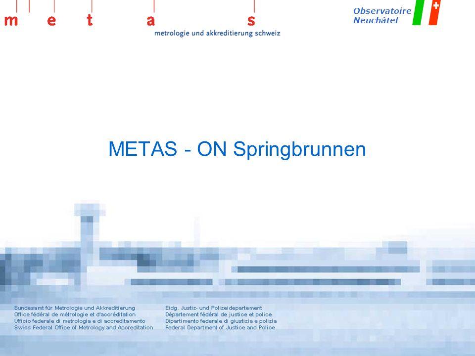 METAS - ON Springbrunnen