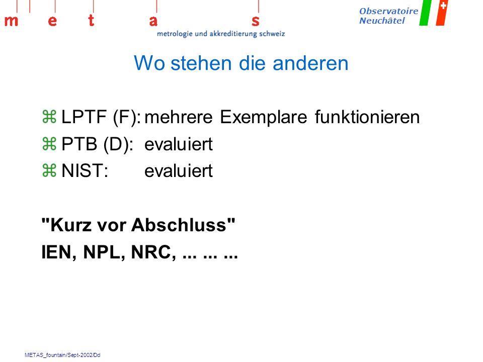 Wo stehen die anderen LPTF (F): mehrere Exemplare funktionieren