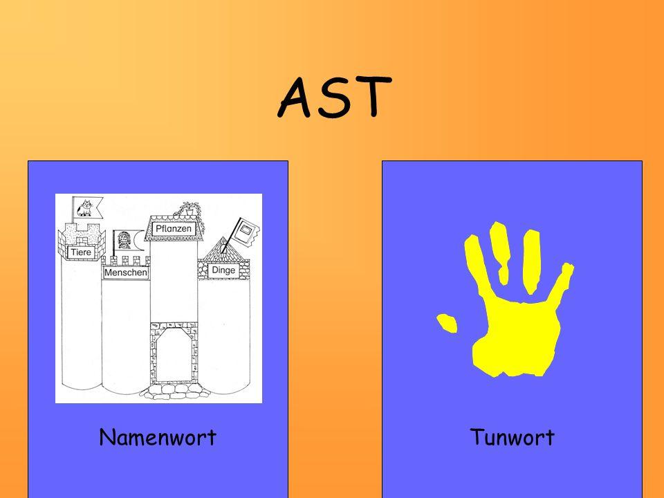 AST Namenwort Tunwort