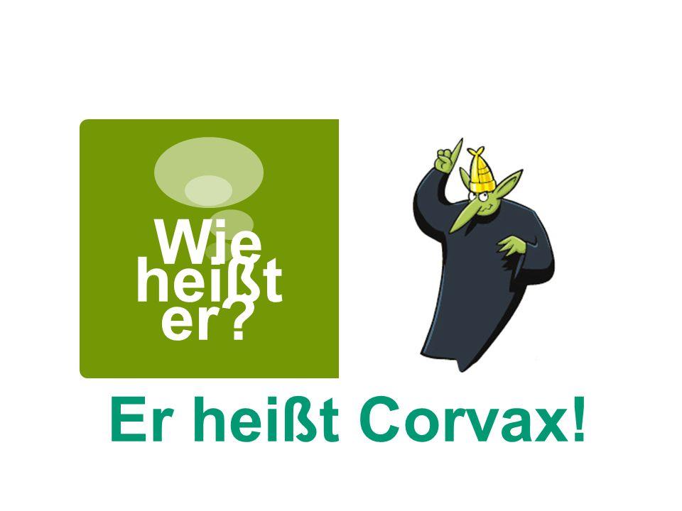 Wie heißt er Er heißt Corvax!