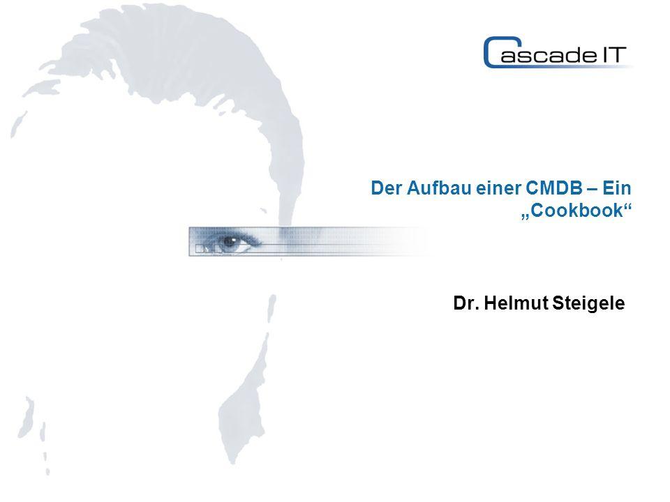 """Der Aufbau einer CMDB – Ein """"Cookbook"""