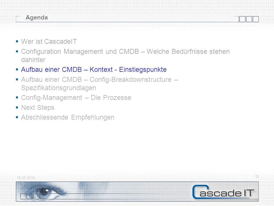 Configuration Management und CMDB – Welche Bedürfnisse stehen dahinter