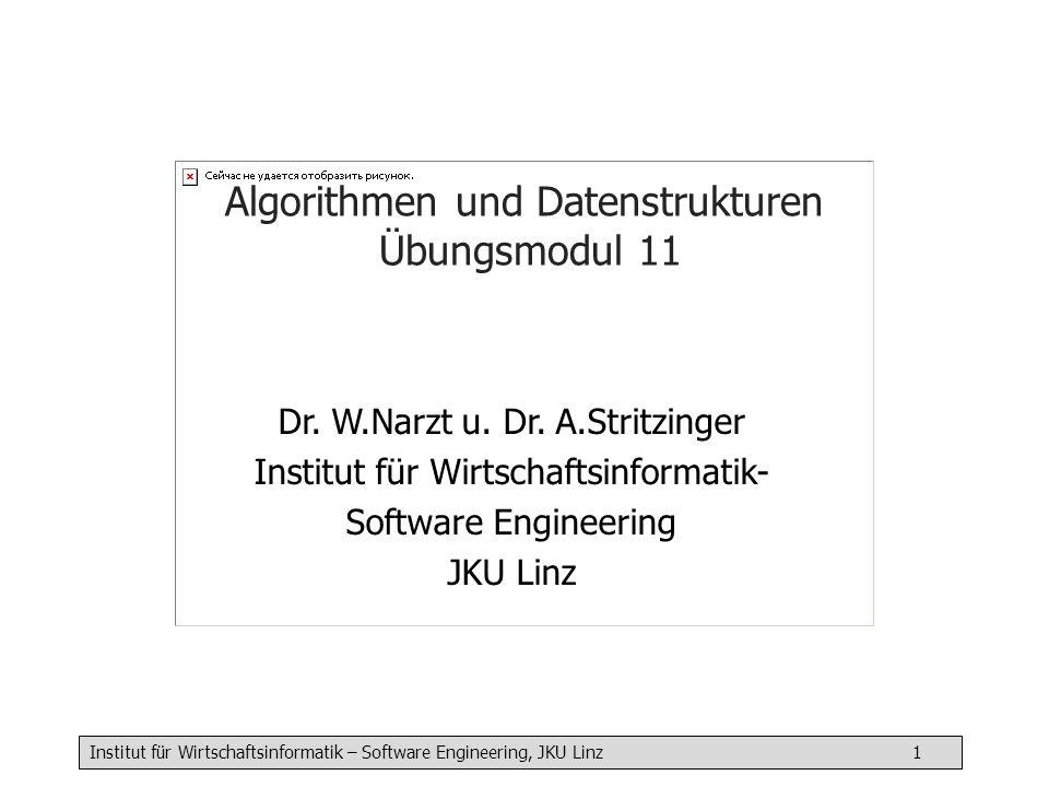 Algorithmen und Datenstrukturen Übungsmodul 11