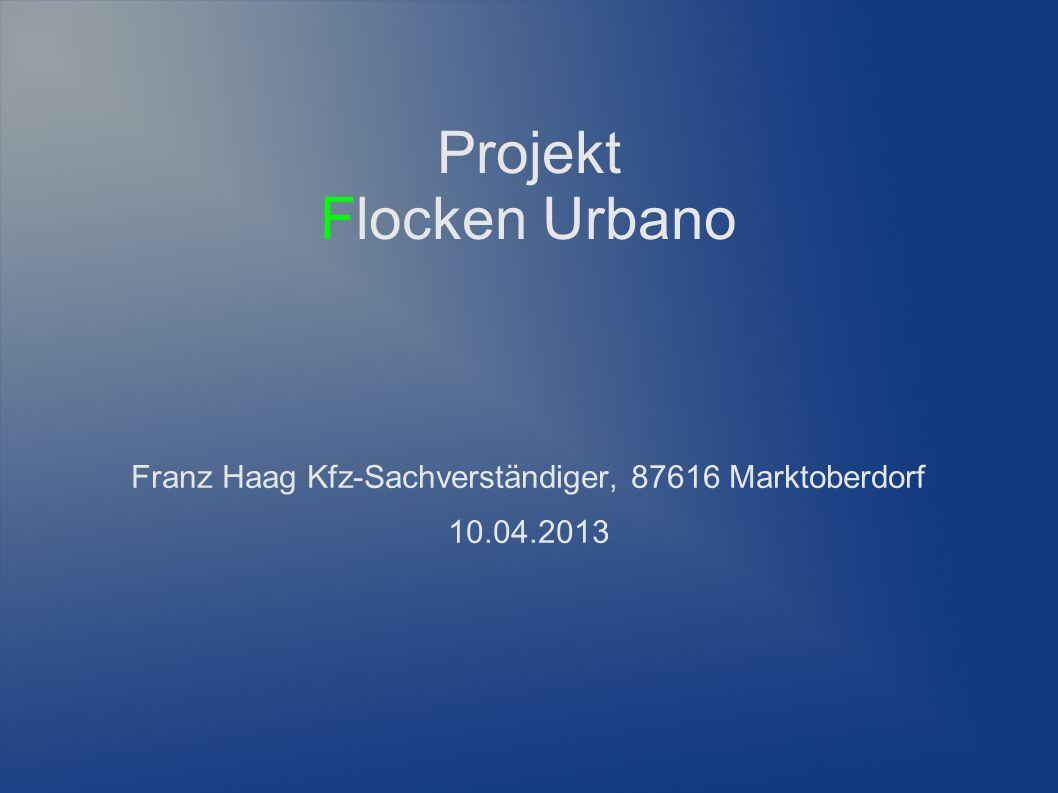 Projekt Flocken Urbano