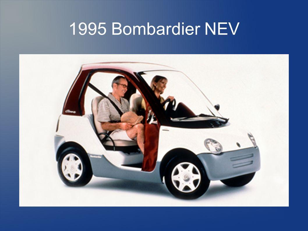 1995 Bombardier NEV 1995 zum Patent angemeldet 5500 €