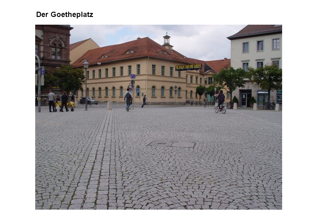 Der Goetheplatz