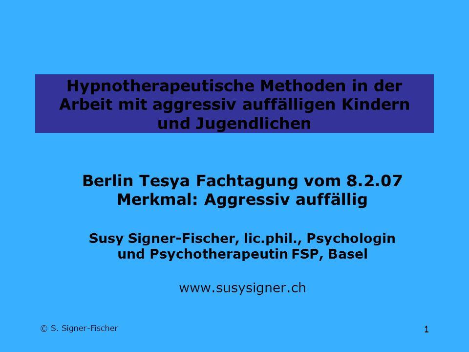 Berlin Tesya Fachtagung vom 8.2.07 Merkmal: Aggressiv auffällig