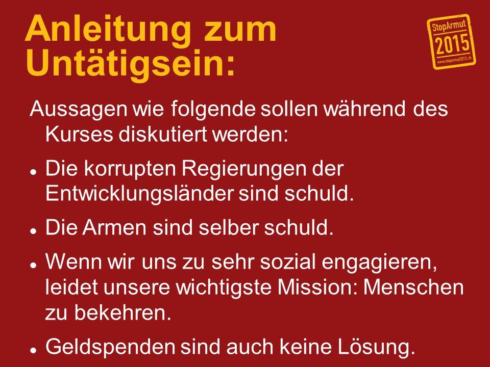 Anleitung zum Untätigsein: