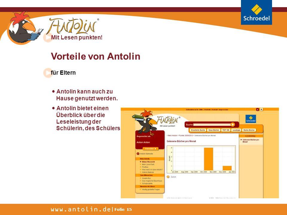 Vorteile von Antolin für Eltern