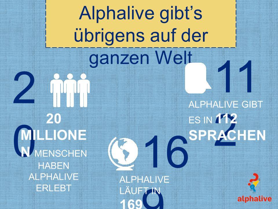 112 20 169 Alphalive gibt's übrigens auf der ganzen Welt