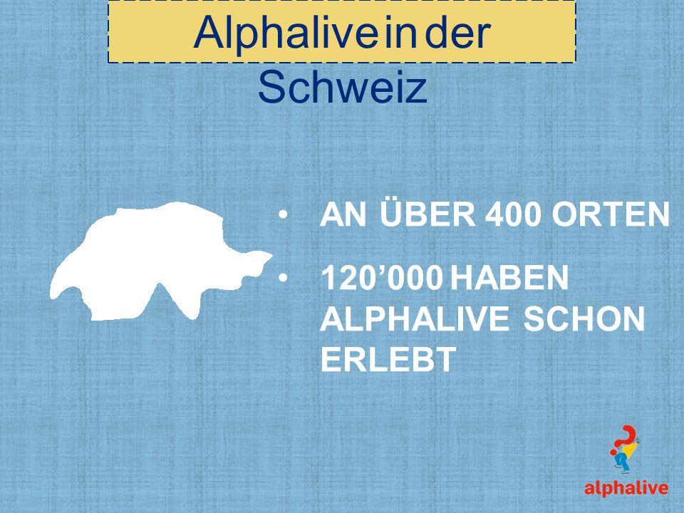 Alphalive in der Schweiz