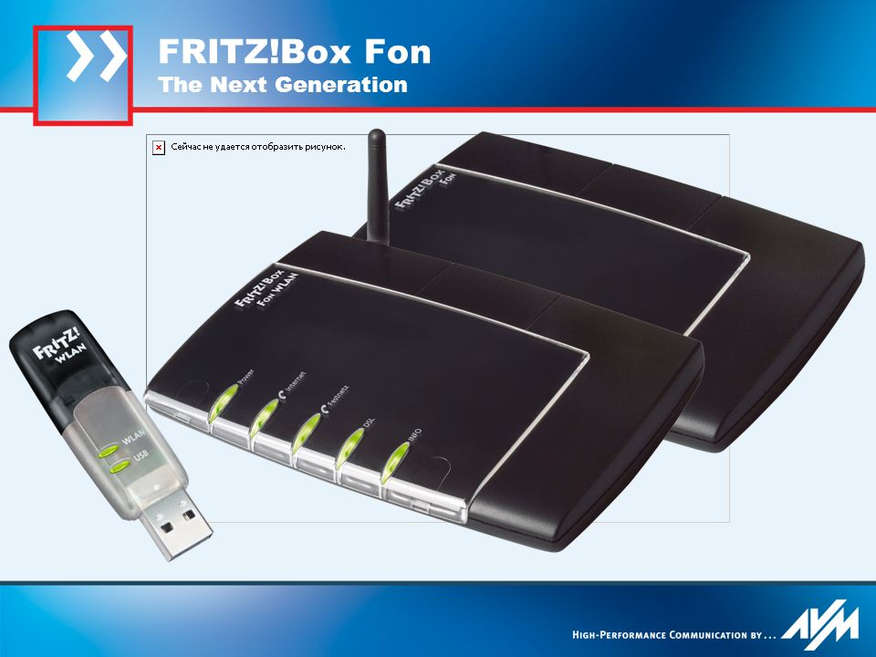 FRITZ!Box Fon The Next Generation
