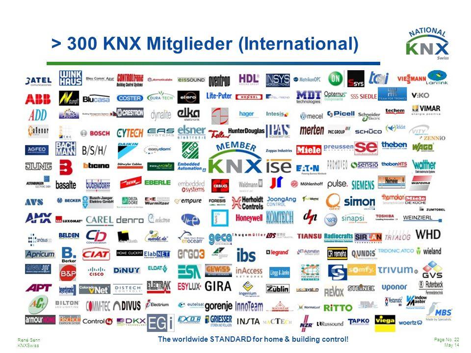 > 300 KNX Mitglieder (International)