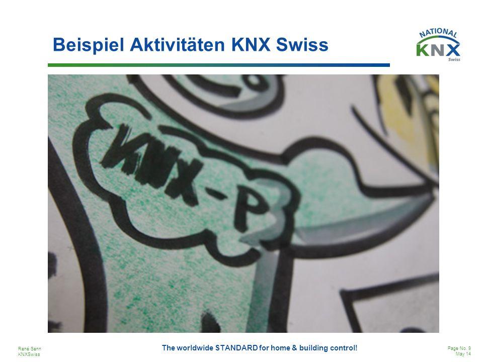 Beispiel Aktivitäten KNX Swiss