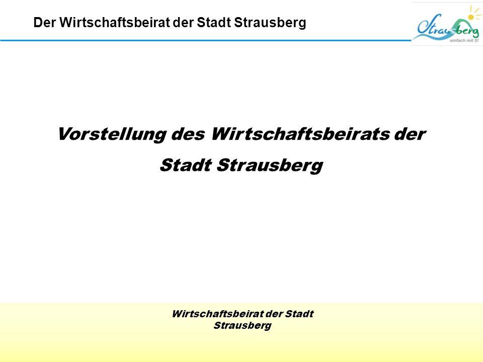 Vorstellung des Wirtschaftsbeirats der Stadt Strausberg
