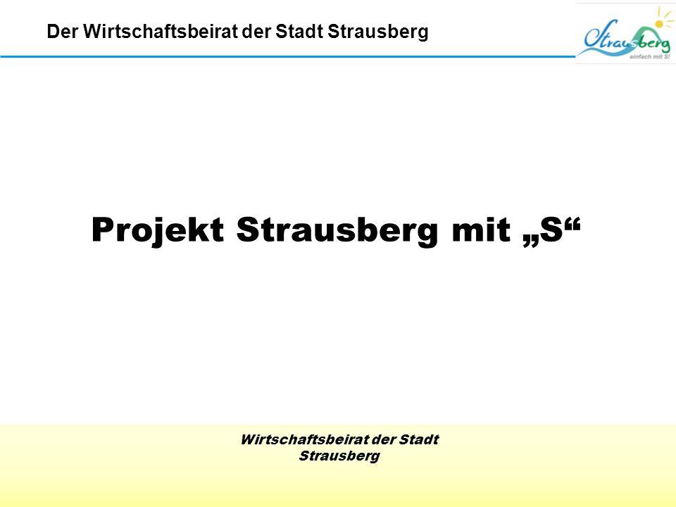 """Projekt Strausberg mit """"S"""