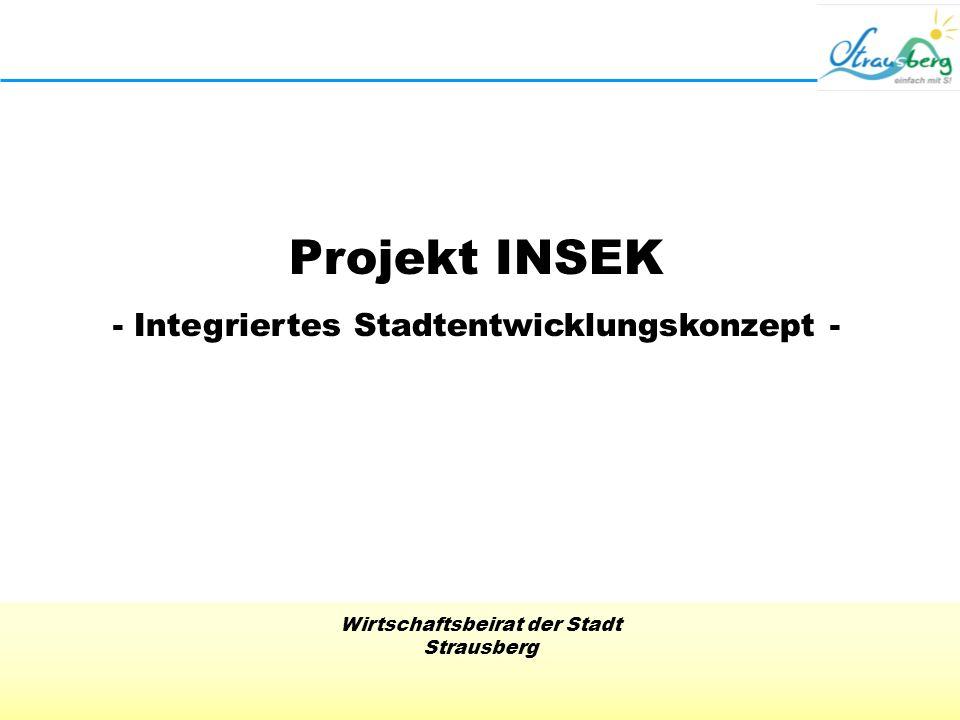 - Integriertes Stadtentwicklungskonzept -