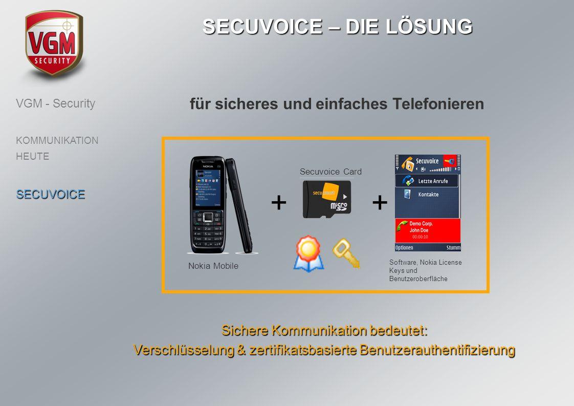 für sicheres und einfaches Telefonieren