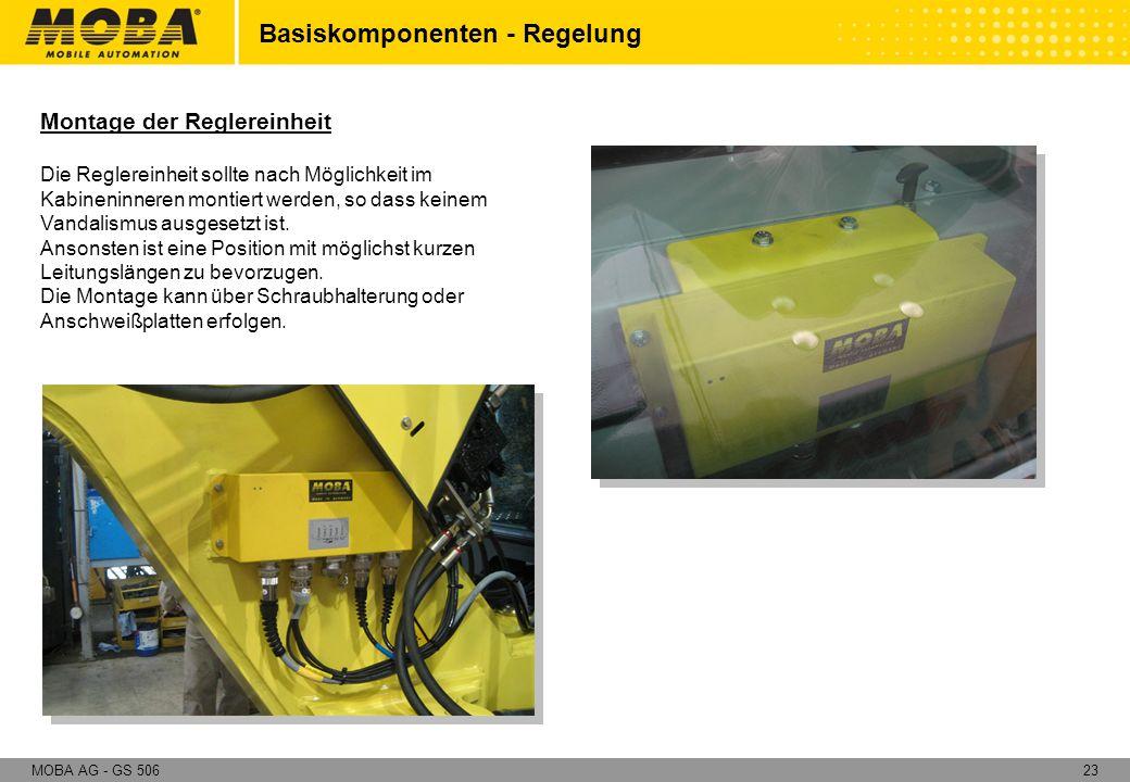 Basiskomponenten - Regelung