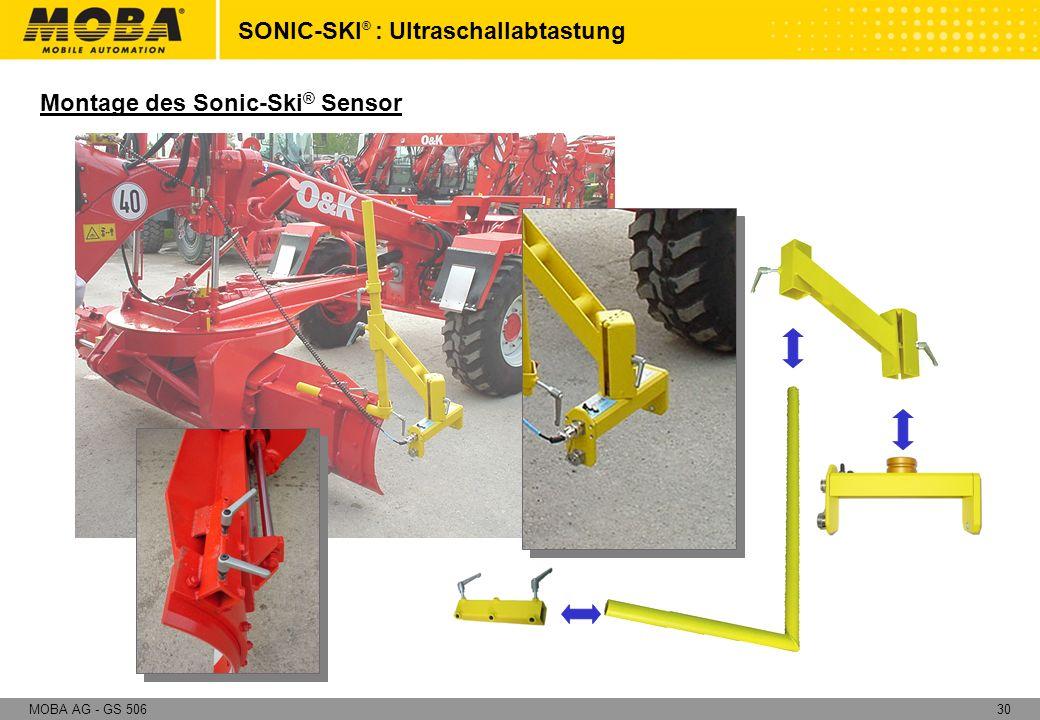 SONIC-SKI® : Ultraschallabtastung