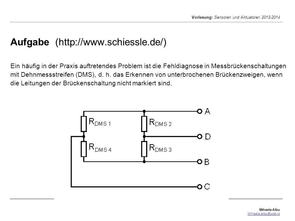 Aufgabe (http://www. schiessle