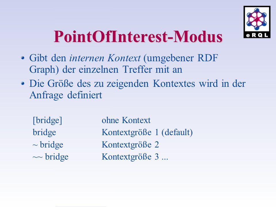 PointOfInterest-Modus
