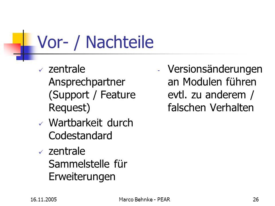Vor- / Nachteile zentrale Ansprechpartner (Support / Feature Request)