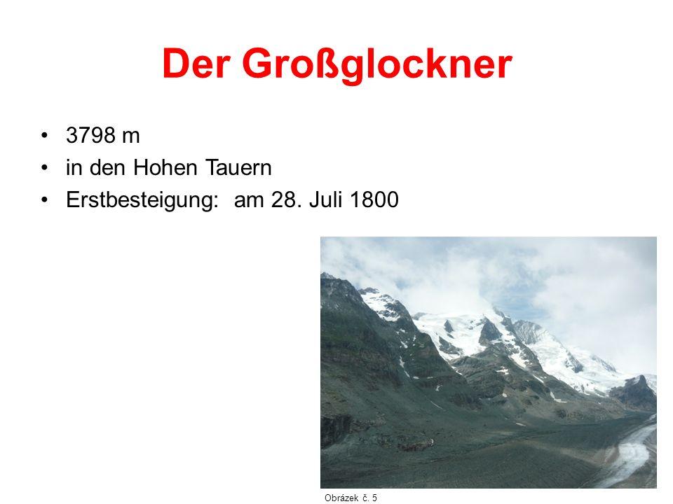 Der Großglockner 3798 m in den Hohen Tauern