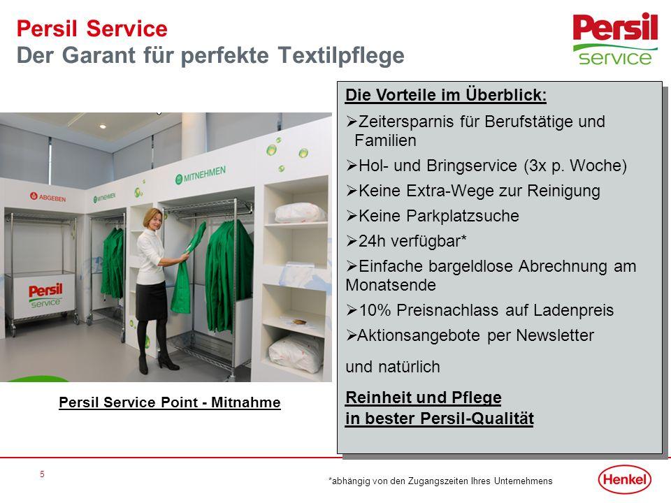 Persil Service Der Garant für perfekte Textilpflege