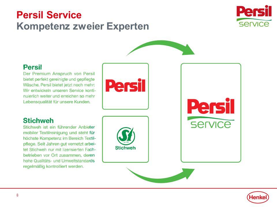 Persil Service Kompetenz zweier Experten