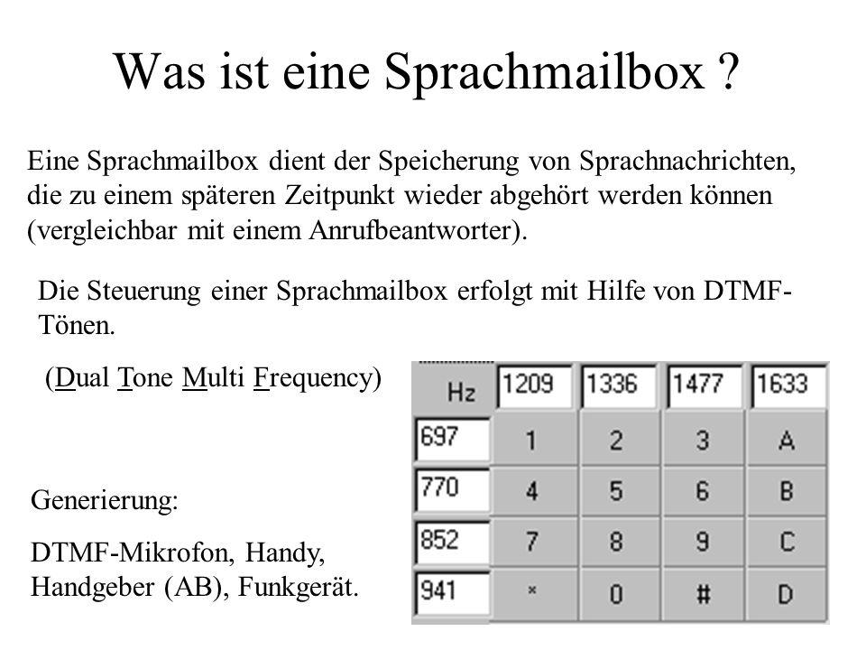Was ist eine Sprachmailbox