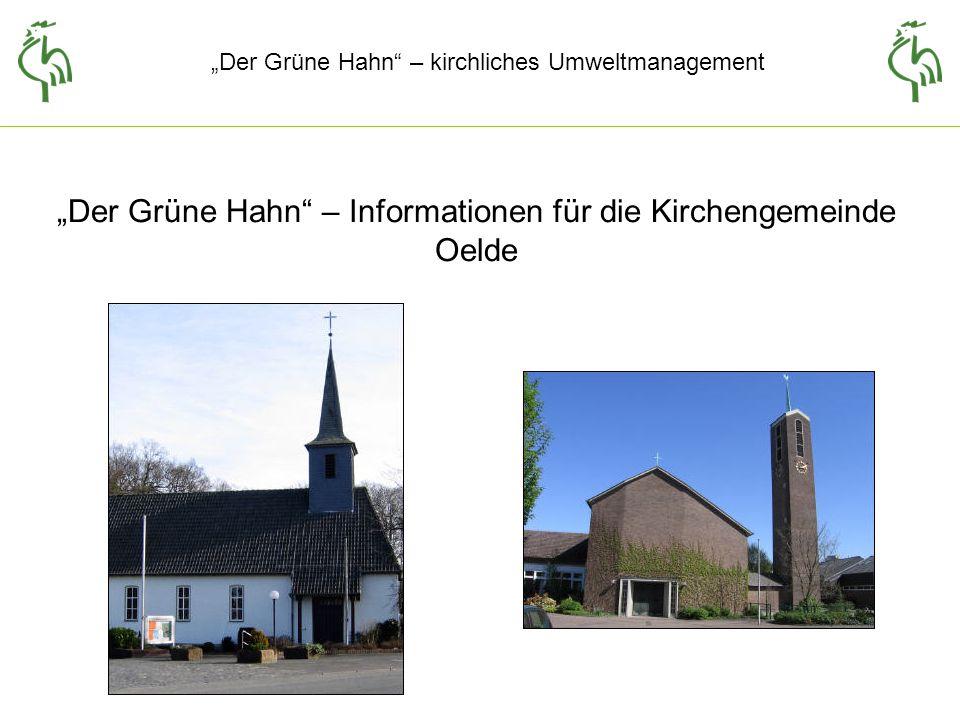 """""""Der Grüne Hahn – Informationen für die Kirchengemeinde Oelde"""