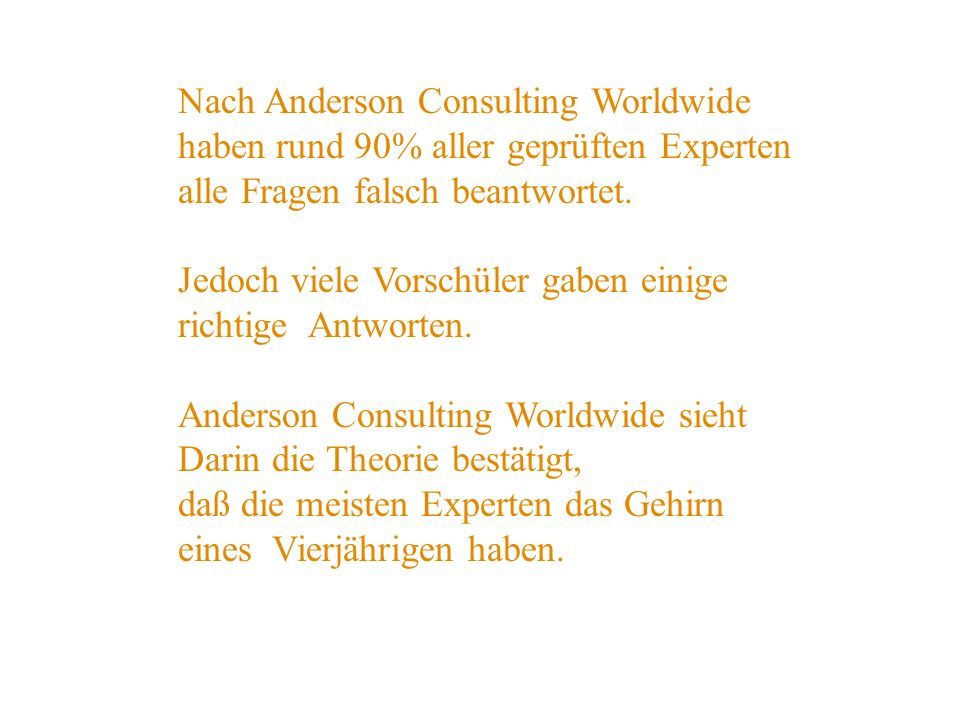 Nach Anderson Consulting Worldwide