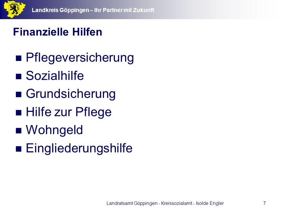 Landratsamt Göppingen - Kreissozialamt - Isolde Engler