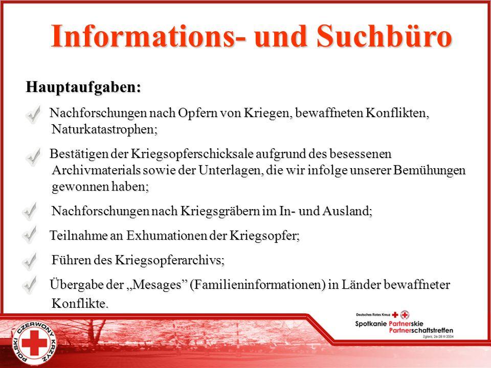 Informations- und Suchbüro