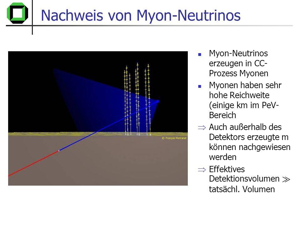 Nachweis von Myon-Neutrinos