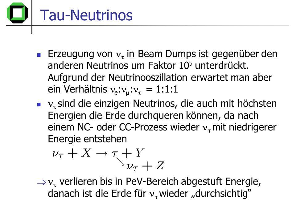 Tau-Neutrinos