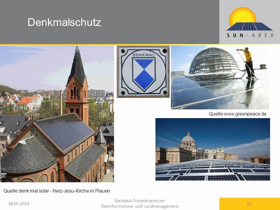 Denkmalschutz Quelle:www.greenpeace.de